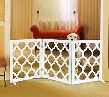 Pet Parade Decorative Pet Gate for Indoor & Outdoor Use - Very Sturdy & Stable