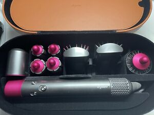 Dyson Airwrap Complete Styler   Multipurpose Hair Styler    Nickel & Fuchsia
