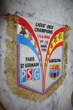 G.FANION )) PSG V FC BARCELONE  )) 1/4 Ligue des Champions 1995