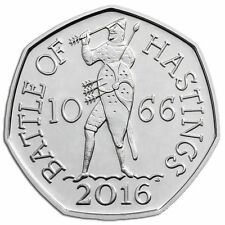 Rare 1066 Battle Of Hastings 50p Coin Collectable Collectables 2016