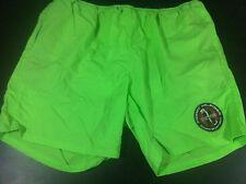 VTG 90's Tommy Hilfiger Dive Aquatic Sport Gear Patch Swim Trunks Shorts Size LG