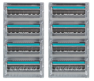 Schick Quattro Titanium Cartridge Razor Refills - 8 Cartridges