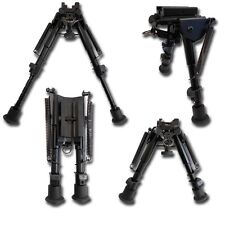 BIPIEDE HARRIS SOFTAIR IN METALLO REGOLABILE UNIVERSALE Tactical 6-9 inch Bipod