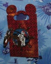 Disney Pin CARDED PIRATE SKULL SKELETON
