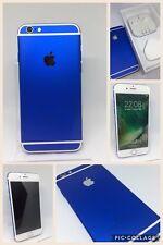 CUSTOM Apple Iphone 6 64GB in ROYAL BLUE UNLOCKED -  Brand new colour swap!