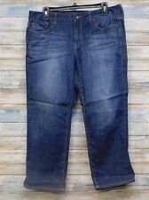 Lucky Brand Jeans 10 x 24 Women's Sweet Crop Capri 100% Cotton   (N-10)
