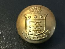 ROYAL CANADIAN ORDNANCE CORPS BRASS MILITARY BUTTON 25mm.  (P35)