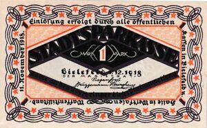 Germany  Bielefeld 1 Mark 1918 Notgeld Token (C336)