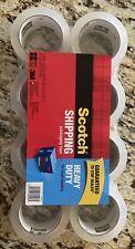 Scotch Heavy Duty Shipping Tape 3m 8pack