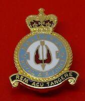 RAF Museum Royal Air Force Enamel Pin Badge No 10 Squadron Rem Acu Tangere