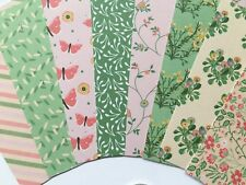 1:12 Scale 8 x FLORAL/NURSERY Small Craft Paper Dolls House Miniature Projects