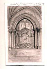 Antique Pencil Drawing, St Marys Church Redcliffe 1793 - Thomas Baskerfield FSA