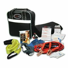 Justin Case Deluxe Travel Auto Safety Kit - Black- HANDY IF YOU EVER BREAK DOWN