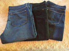 Women's Old Navy FLIRT style Jeans EUC 12L CHOOSE ONE Blue Black