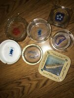 Commodore Cruise Lines CARIBE+admiral Hawaii SITMAR Alaska Ashtray Plate Lot