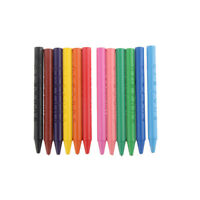 12 Farben Wachsmalstifte für Kinder Malerei