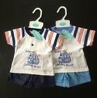 Baby Boy T Shirt Shorts Set Outfit Summer 2pcs Sailing Boat Blue Navy By Baby C