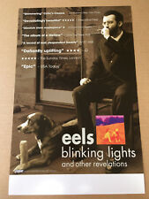 Eels Rare 2005 Promo Poster for Blinking Lights Cd Usa seller Never Displayed
