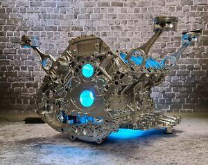 Lamborghini / Audi 5.2l R8 V10 Motortisch Tisch Motorblock Motor V12 V8