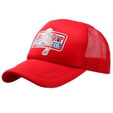 Forrest Gump Bubba Gump Hat Shrimp Co Fancy Dress Costume Red Trucker Mesh Cap