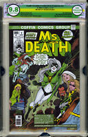 🔥 Lady Death Ms Death EGS SS 9.8 not CGC Emerald Edition signed Pulido Homage