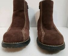 UGG Size 7 Nubuck Leather Brown  Anckle Boots
