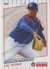 2019 South Bend Cubs Brailyn Marquez RC Rookie Chicago