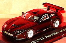 Ferrari 575gtc Presentación Versión 2003-05 Mate Negro negro 1:43 IXO fer013