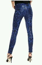 Guess by Marciano The Skinny Jean no.61 High Def Blue size 23 $179