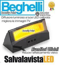 BEGHELLI SALVALAVISTA LED SALVA VISTA TV TELEVISORE LUCE CALDA AMBRA RILASSANTE