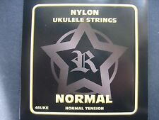 From ROSETTI, Set of Good UKELELE /Ukulele Strings (Black Nylon-Normal tension)