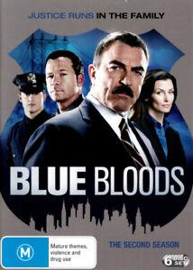 BLUE BLOODS: SEASON 2 (2012) [NEW DVD]
