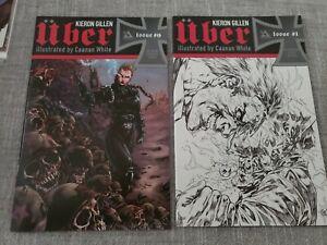 UBER #1 (Blitzkreig Cover) plus #0 [NM-] Avatar Press