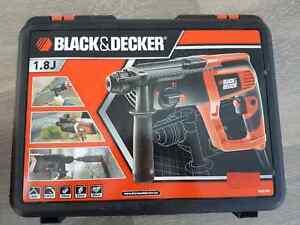 Black & Decker KD975K SDS-Plus-Bohrhammer 710 W 1,8 J + Koffer