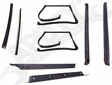 APDTY 140003 T-Top Rubber Seal Weatherstrip Kit Fits 1982-1992 Camaro Firebird