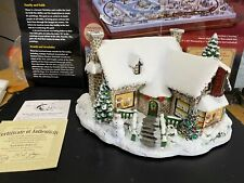 """Hawthorne Village-Thomas Kinkade """"Yuletide Bakery"""" Lighted.judb"""