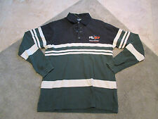 VINTAGE Ralph Lauren Polo Sport Long Sleeve Shirt Adult Small Green RL67 Mens