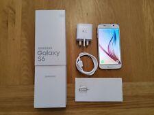 Samsung Galaxy S6 SM-G920F Smartphone 32Gb inPearl White (unlocked)