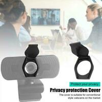 1 x Privacy Shutter Lens Cap Hood Protect Cover For HD Webcam Black Pro B9K3