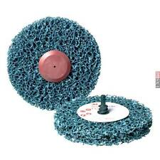 3M Scotch-Brite CG-ZR Disc S xcs D = 100x13mm Gp Soft Blue 57018 BOX OF 10