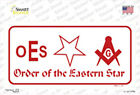 Order of the Eastern Star Sticker Decal