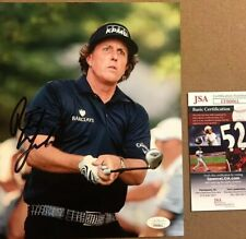 PHIL MICKELSON SIGNED PGA 8X10 PHOTO JSA COA(Masters Champion)
