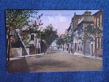 Gibraltar/Southport Street/Benzaquen & Co Printed Color Photo Postcard/Unposted