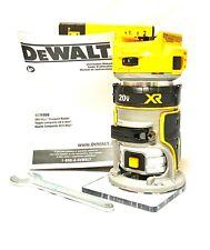 DeWalt DCW600B 20-Volt Depth Adjusting Brushless Cordless Router - Bare Tool
