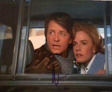 Elisabeth Shue Michael J Fox signed autographed 8x10 Photo Back to the Future