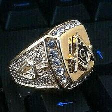 Gold Masonic Rings for Men for sale   eBay