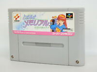 Super Famicom TOKIMEKI MEMORIAL Cartridge Only Nintendo sfc