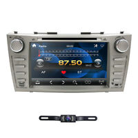 2Din 8inch Car DVD Player Radio GPS Navigation BT SWC for Toyota Camry 2007-2011