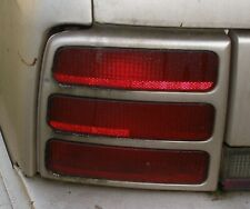 93 GM Oldsmobile Cutlass S 4-door parts: rear light lenses