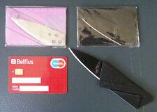 Couteau Pliable Carte de Credit | Survie de poche | Cardsharp SINCLAIR